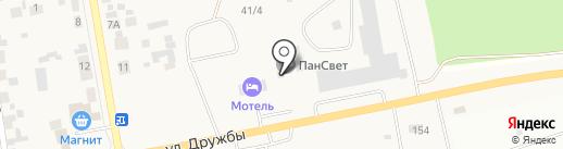 Светлый на карте Березовки