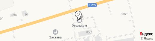 Паритет-плюс на карте Березовки