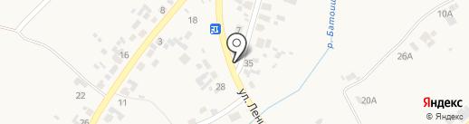 Продуктовый магазин на карте Вознесенки