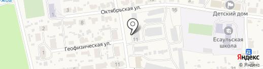 Продуктовый магазин на карте Есаулово