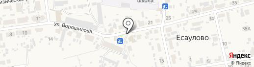 Арго на карте Есаулово