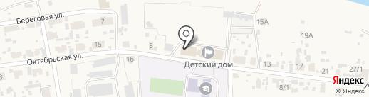 Есауловский детский дом на карте Есаулово