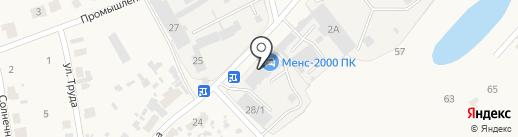 Менс на карте Есаулово