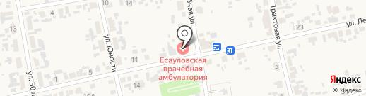 Есауловская врачебная амбулатория на карте Есаулово