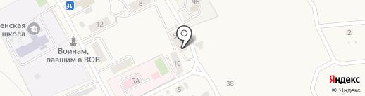 Фельдшерско-акушерский пункт на карте Вознесенки