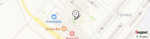 Моя Радость на карте Сосновоборска