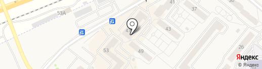 Друг на карте Сосновоборска