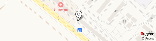 STYLE AND STONE на карте Сосновоборска