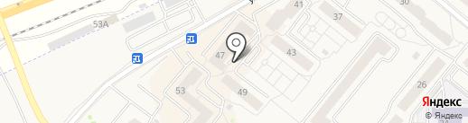 Монтаж-Строй. Ресурс на карте Сосновоборска