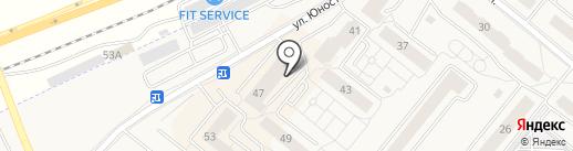 Мне букет на карте Сосновоборска
