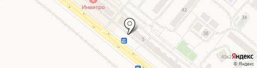 Гарант Двери на карте Сосновоборска