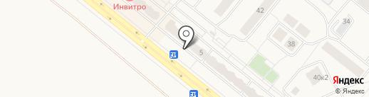 Союз-риэлт на карте Сосновоборска