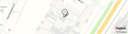 Теплоблок на карте Сосновоборска