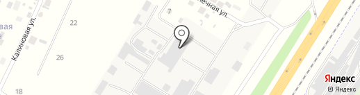 Производственная компания теплоблоков на карте Сосновоборска