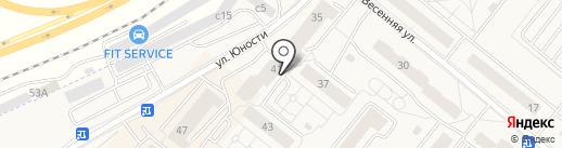 Витамед на карте Сосновоборска