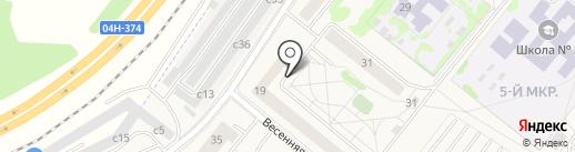 Агентство Национальной Безопасности на карте Сосновоборска