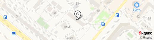 ИнПом на карте Сосновоборска