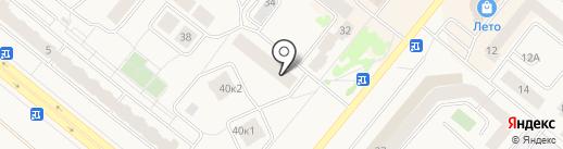 Расчетно-кассовый центр на карте Сосновоборска