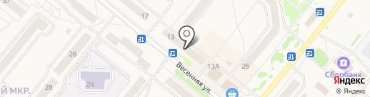 MakCar на карте Сосновоборска