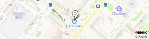 Банкомат, Восточно-Сибирский банк Сбербанка России на карте Сосновоборска