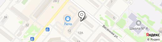 МТС на карте Сосновоборска