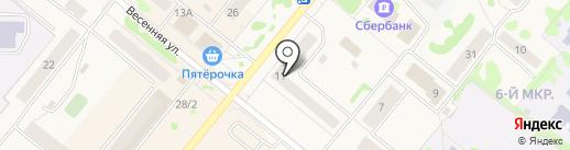 ГЕРМЕС на карте Сосновоборска