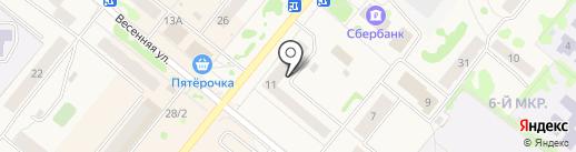 АвтоБУКСИР на карте Сосновоборска