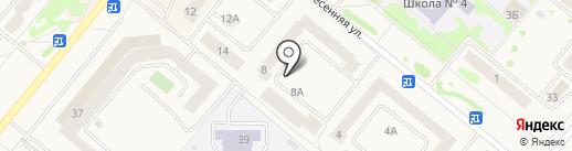 Мини-маркет на карте Сосновоборска