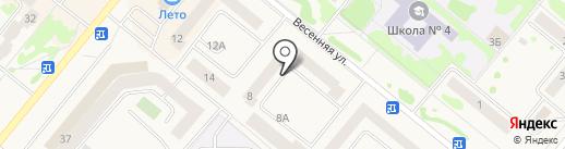 Милый дом на карте Сосновоборска