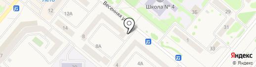 Провиантъ на карте Сосновоборска