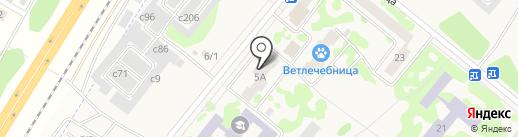 Оникс на карте Сосновоборска