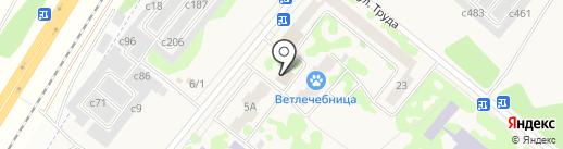 Курск на карте Сосновоборска