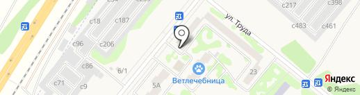 Qiwi на карте Сосновоборска
