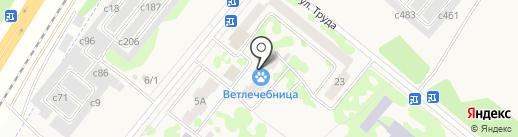 Банкомат, Сбербанк, ПАО на карте Сосновоборска