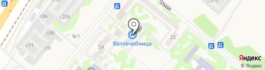 Сосновоборский отдел ветеринарии на карте Сосновоборска