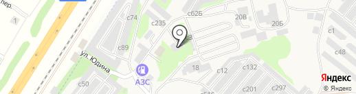 Хайвуд на карте Сосновоборска