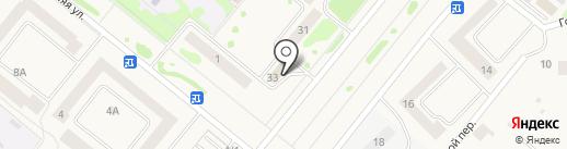 Продуктовый магазин на карте Сосновоборска