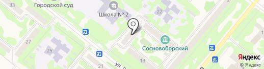 Com & Tech на карте Сосновоборска