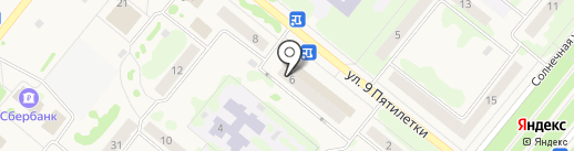5 тонн на карте Сосновоборска