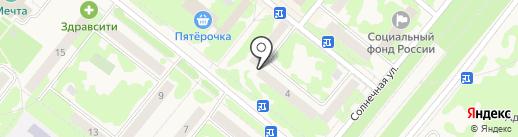 Сибирская аптека на карте Сосновоборска