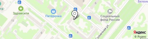 Адвокатский кабинет Хайрзаманова В.Н. на карте Сосновоборска