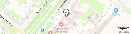 Стоматологическая поликлиника на карте Сосновоборска