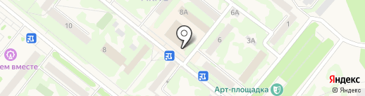 Восточный экспресс банк, ПАО на карте Сосновоборска