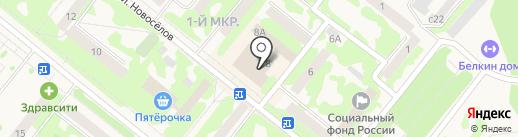 Маленькая фея на карте Сосновоборска