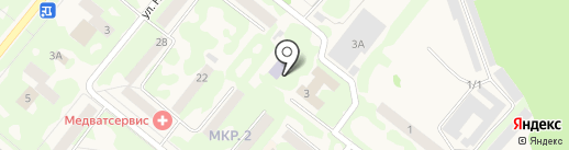 Детская школа искусств на карте Сосновоборска