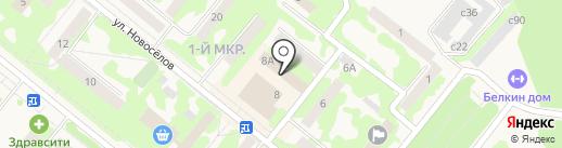 Аварийно-ремонтная служба на карте Сосновоборска