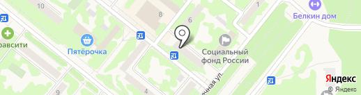 Енисейский объединенный банк на карте Сосновоборска