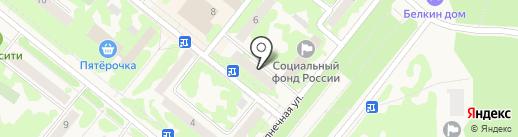 АСТРЕЯ на карте Сосновоборска