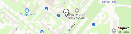 Автошкола на карте Сосновоборска