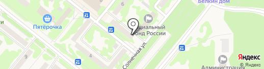 Отдел судебных приставов по г. Сосновоборску на карте Сосновоборска